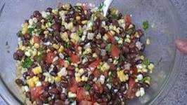 Bean and Corn SalsaSalad