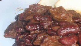 Red Kidney Beans And Beef Stew