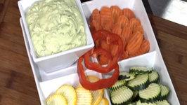 Avocados 101 featuring Wegmans Greek Goddess Yogurt Dip