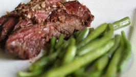 Brown Butter Hanger Steaks  Paleo