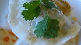 Vegan Sui Jao (Chinese Boiled Dumplings)