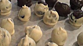 Sarah Fat Holiday Recipe - Candy Cane Oreo Ball Truffles