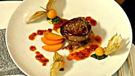 Pan Roasted Quail and Seared Foie Gras, Duck Leg Confit