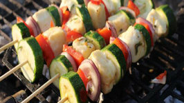 How to Make Halloumi Skewers