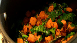 Pan Asian Sweet Potato with Fenugreek Leaves (Kerala, India)