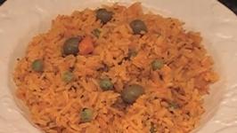 Spanish Yellow Rice with Cod Fish