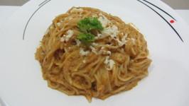Spaghetti in Creamy Tomato Sauce