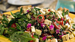 Arabic Inspired Party Salad - A Party in Your Mouth!