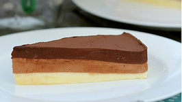 Rich Triple Layer Chocolate Mousse