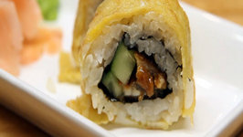 How to Make Sushi - Scrambled Eel Rolls