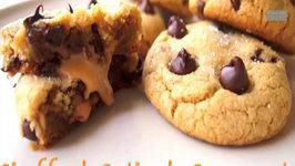 Stuffed Salted Caramel Cookies