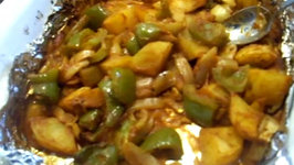 Capsicum Masala Curry  Bell Peppers Curry  Shimla Mirch