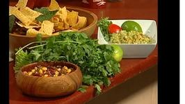 NHL Steve Gainey's Raw Guacamole and Organic Winter Pantry Salsa