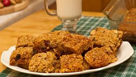 Vegan Oat Bar Cookies