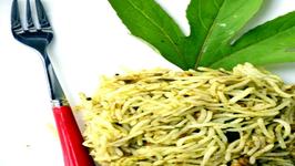 Gongura Pulihora - Seasoned Rice Cooked in Tangy Sorrel Leaves