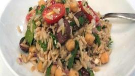 Lynn's Mediterranean Orzo Salad