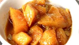 Spiced Mango Papaya Chutney
