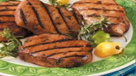 Culinary Carrie BBQ Pork Chops Indoors