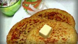 Gajar Muli Paratha - Stuffed Carrot Radish Bread