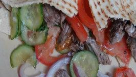 Beef Shawarmas