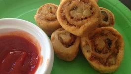 Party Spirals (How to Make Potato Pinwheels)