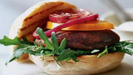 Zero Cooking Bar-be-cue Portobello Burger