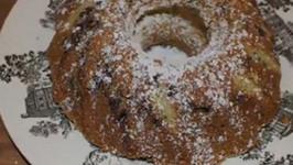 Chocolate Chip Sour-Cream Cake
