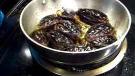 Stuffed Eggplant  Stuffed Brinjal  Bharve Baingan  Easy Eggplant