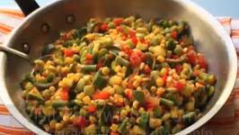 All American Vegetarian Succotash