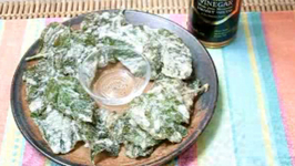 Crispy Spinach Cracklings