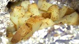 Foil Baked Potatoes