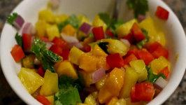 Spicy Mango Pineapple Salsa