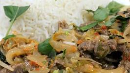 Stir Fried Beef and Lemon Grass