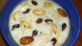 Amma's Sweet And Delicious Semiya Payasam