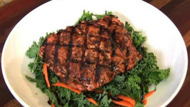 Balsamic Glazed Grilled Salmon - A Quick and Easy Lunch