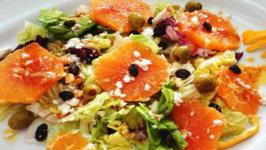Orange Mesclun Salad