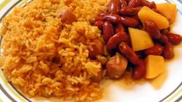 Arroz Con Salchichas (Rice and Sausage)