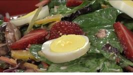 Sweet and Sassy Shandy Salad