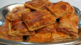 Ham and Cheese in Puff Pastry - Super Bowl