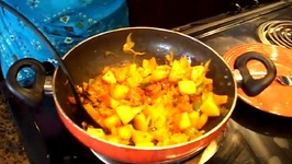 Bell Peppers Masala  Capsicum Masala  Potatoes and Peppers Dish