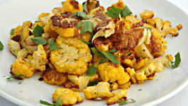 Rustic Roasted Cauliflower