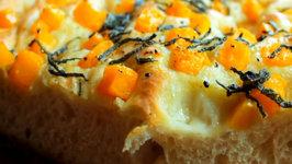 Butternut Squash and Sage Focaccia Bread