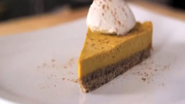 Raw Food Recipe Pumpkin Pie Cheesecake