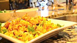 Quick and Easy Fish and Shrimp Biriyani