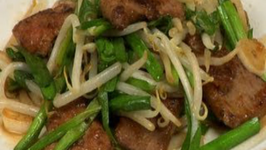 Reba Nira - Stir Fried Pork Liver and Nira Garlic Chives