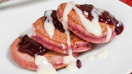Beet Pancakes