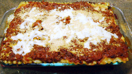 Homemade Beef And Spinach Lasagna