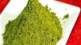 Karivepaku Podi  Curry Leaf Spice Powder - Indian Condiment