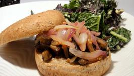 Grilled Stuffed Hamburger Rolls