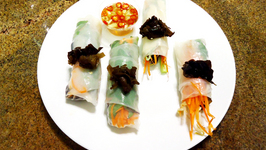 Vietnamese Spring Rolls with Nuoc Cham Sauce